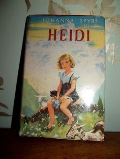 Heidi...the very first book I ever read.... I must have been around seven.  It literally turned me on to a lifetime of reading.  I loved, loved, loved this little book...