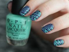Spektor's Nails: Marble Nails feat. OPI Nordic Collection