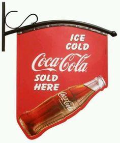Coca Cola flag...