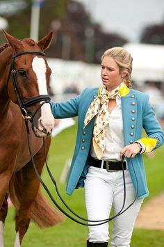 Emily Llewellyn and Pardon Me II - Burghley Horse Trials 2011