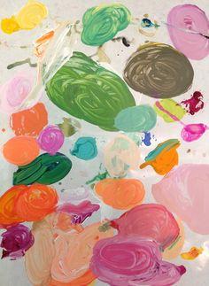 Lulie Wallace's palette.