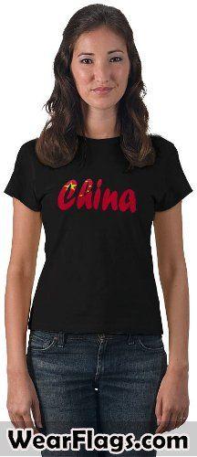 #China Flag T-shirt, $26.95