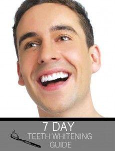 7-Day Teeth Whitening Guide dentist, teeth whiten, at home, whiten teeth, whiten guid, dental care, smile, health, 7day teeth