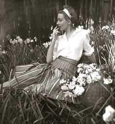 """""""The Casual Life"""" — Louise Dahl-Wolfe, 1939. #MKSpring #AllAccessKors"""