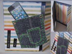 Tarjeta Scrapbook