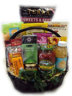 Breast Cancer Get Well Basket