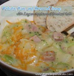 ham crockpot recipes, ham dinner, potato, chees soup, soup recipes