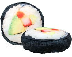 Sushi Pillow.... soon funky donuts... tarts...cookies... dessets...
