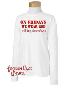 RED Friday Shirt!!!