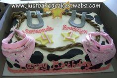 Cowgirl Sheet Cake