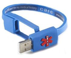 USB port for medical history......need one for all my school files so I don't lose it!