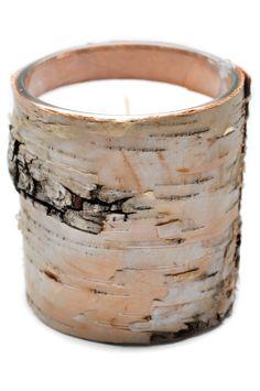 Birch Bark Candle