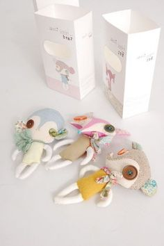 cute dolls and packaging - Abigail Brown