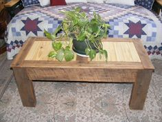 Rustic Reclaimed Wood Coffee Table or Bench by StorybookTreasure, $365.00