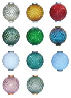 Quilt Flat Lightning Rod Balls – Meyer Collection