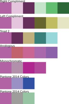 "PANTONE Color of the Year 2014 is ""Radiant Orchid"" via junelily.com"