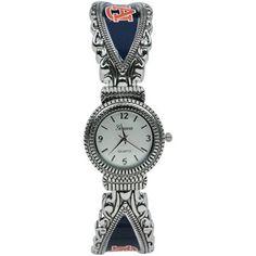 Auburn Tigers Ladies Antique Oval Watch
