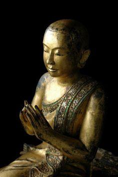 19th Century Mandalay Disciple of Buddha, Burma