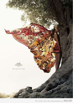 Awesome Hermes Scarf Ads