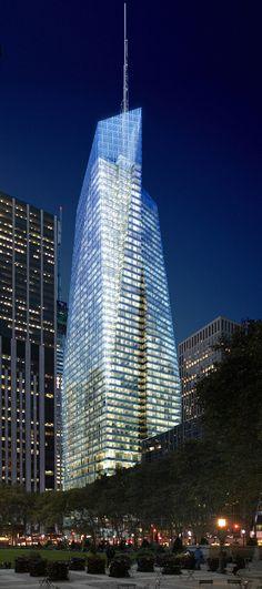 Bank Of America Tower, Greenest Skyscraper In The U.S.