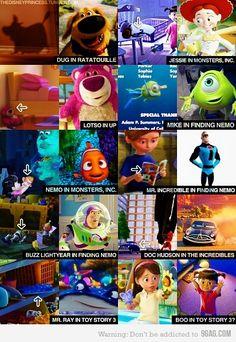 Sneaky pixar