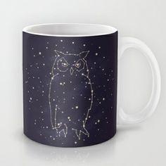 Owl Constellation  Mug
