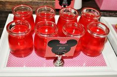Vintage Minnie Mouse Party via Kara's Party Ideas | Kara'sPartyIdeas.com #Vintage #MickeyMouse #Party #Idea #Supplies (20)