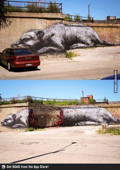 Street Art at its finest!