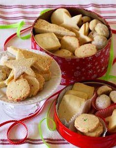 Candy Cane Shortbread... Yum!