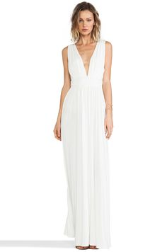 Lovers + Friends Helena Maxi Dress in White | REVOLVE