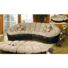 Couches on pinterest 32 pins for Papasan two piece sectional sofa
