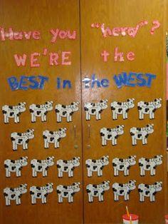 """Have you """"herd""""?  Preschool is the Best in the West."""