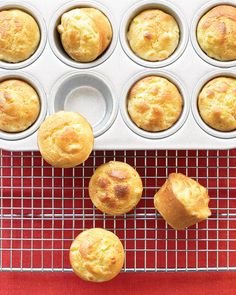 Mini Cornbread Puddings