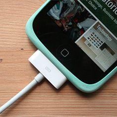 Elastic band = iPod grip