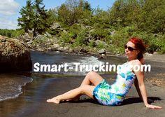 Smart Trucking Pin-Up Girl!