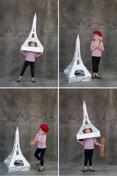 Eiffel Tower Costume for Halloween
