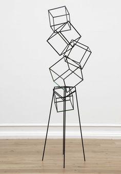 Eva Rothschild,Jokes. 2007, painted aluminium