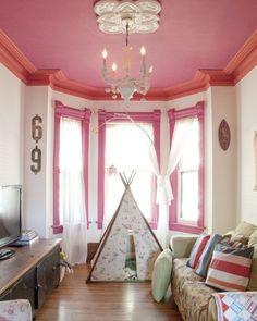 Painted window trim