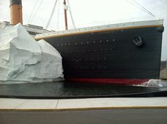 A view of the Titanic in Pigeon Forge from one of our visitors :)