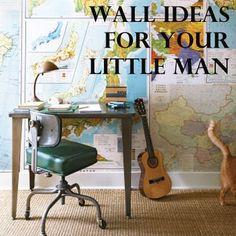 Great Boy Room Wall Decoration Ideas!