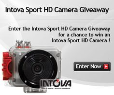 Enter the Intova Sport HD Camera Giveaway for a chance to win an Intova Sport HD Camera !  Enter at http://www.sweepstakeslovers.com/our-giveaways/intova-sport-hd-camera-giveaway/