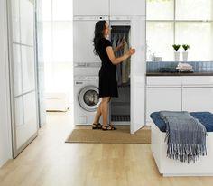 Laundry closet ideas