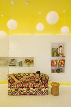 Trina Turk Palm Springs store designed by Kelly Wearstler, her earlier work.