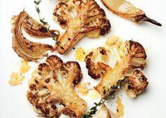 Parmesan Roasted Cauliflower Recipe | Bon Appetit #cauliflower #Parmesan #cauliflower_recipes