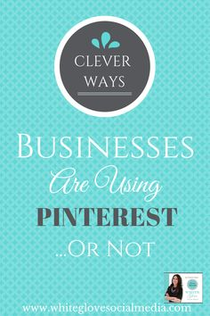 """#PinterestExpert shares CLEVER WAYS BUSINESSES ARE USING PINTEREST....OR MAYBE NOT! This is PART 2 of a 3 part series on """"How Businesses Are Riding High on Pinterest"""". CLICK HERE to learn what else you can do to use Pinterest to drive traffic and sales http://www.business2community.com/pinterest/clever-ways-businesses-using-pinterest-maybe-0798253#!yCKYw  #PinterestForBusiness #PinterestCourse"""