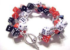 Casino Night bracelet... I can see me in this with a little black dress.