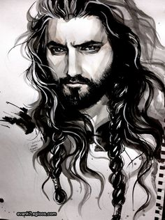 Fili's uncle, Thorin Oakenshield