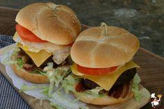 Royal Ultimate Burger {Red Robin copycat recipe}