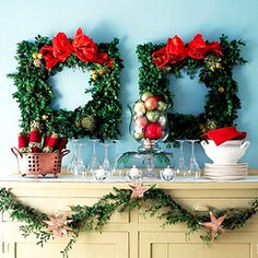 DIY Holiday surprise wreath: http://www.midwestliving.com/homes/seasonal-decorating/beautiful-holiday-wreaths/page/28/0