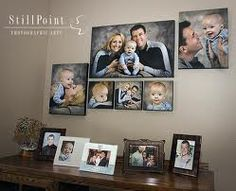 great family canvas grouping